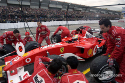Pitstop simulation for Luciano Burti