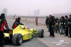 Alex Yoong y Dato Cam Soh en el Minardi F1x2