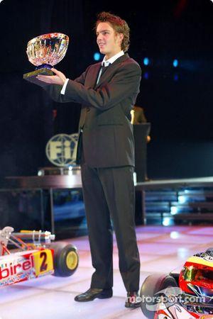First place, Giedo Van der Garde