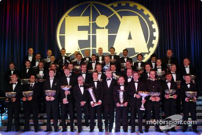 Церемония награждения fia 2002 года, монако