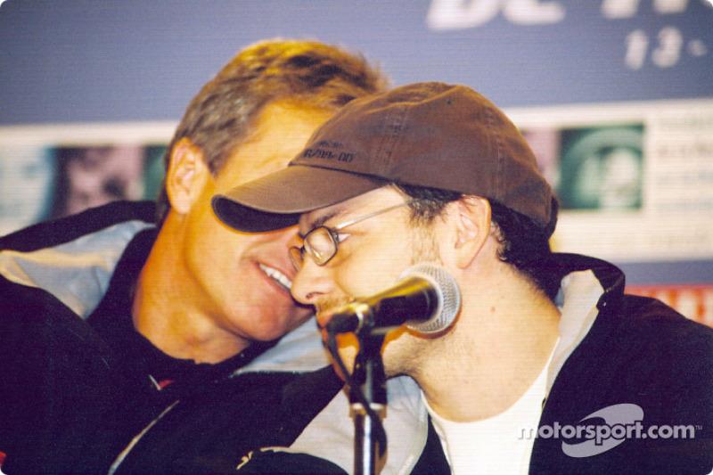 Conferencia de prensa: Craig Pollock y Jacques Villeneuve