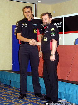 Justin Wilson en Paul Stoddart