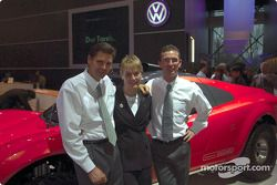 Volkswagen Tarek World debut at the Essen Motor Show: Stéphane Henrard, Jutta Kleinschmidt and Diete