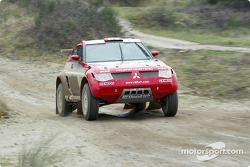 Mitsubishi Pajero Evolution-Montero Evolution, Team ENEOS Mitsubishi Ralliart: Hiroshi Masuoka and A