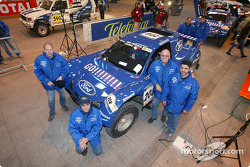 Schlesser Ford X 202 : Jean-Louis Schlesser, Jean-Marie Lurquin, José Maria Servia et Enric Oller-Carbo