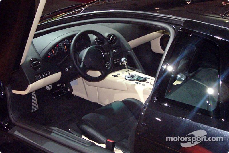 Lamborghini Murcielago Interior At North American International Auto