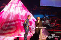 Petter Solberg at Subaru Press Conference