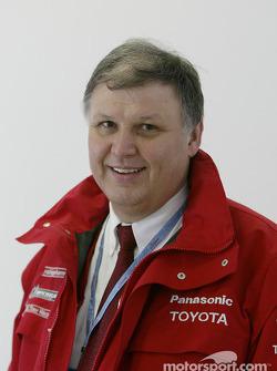 Norbert Kreyer - gerente general de ingenieria de carrera y pruebas