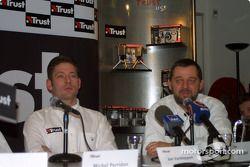 Jos Verstappen en Paul Stoddart