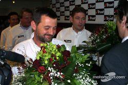 Paul Stoddart y Jos Verstappen