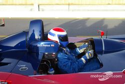Don Panoz leaves pits