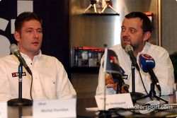 Jos Verstappen and Paul Stoddart