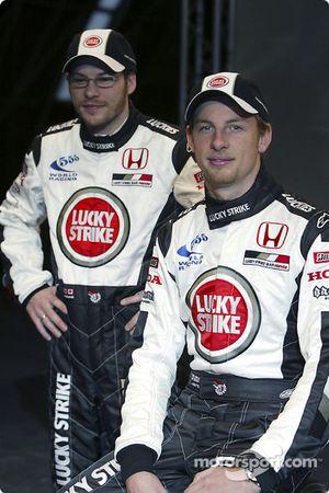 Jenson Button ve Jacques Villeneuve
