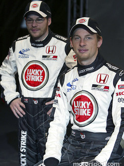 Jenson Button ve Jacques Villeneuve