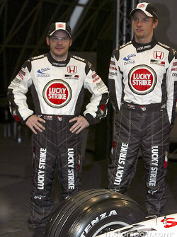 Jacques Villeneuve y Jenson Button