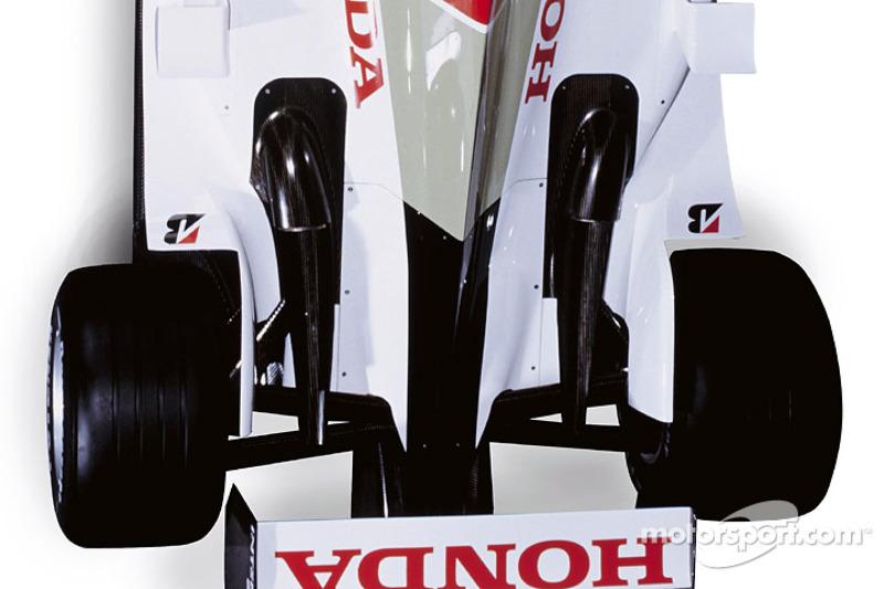 Detalles del nuevo BAR Honda 005