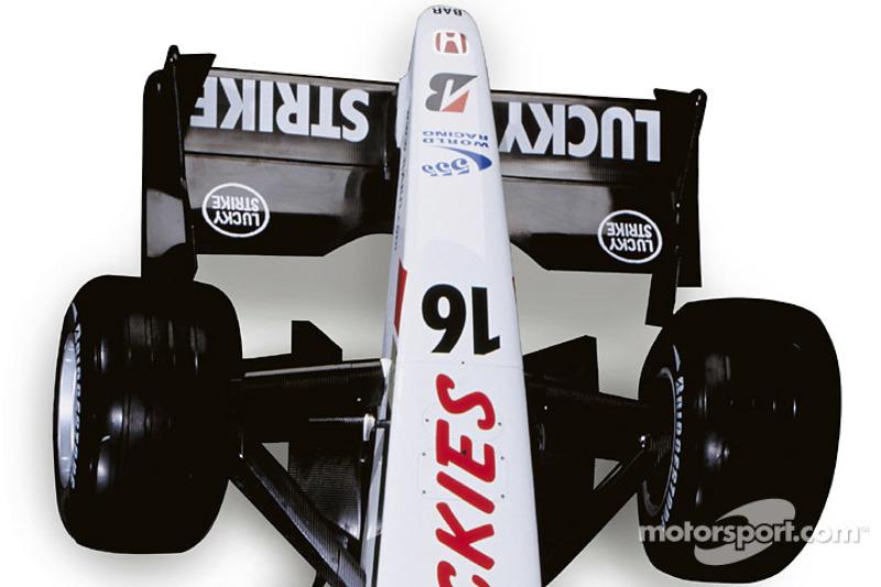 Details of the new BAR Honda 005
