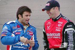 Christian Fittipaldi y Elliott Sadler