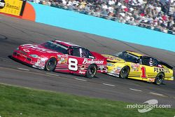 Dale Earnhardt Jr. y Steve Park
