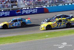 John Andretti, Dave Blaney y Mark Martin