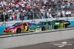 Terry Labonte, Mike Wallace y Ricky Rudd