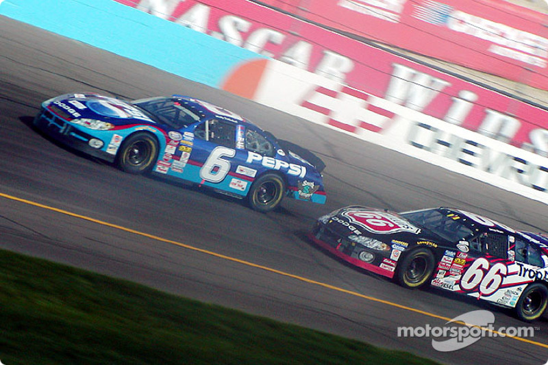 Wally Dallenbach and Casey Mears