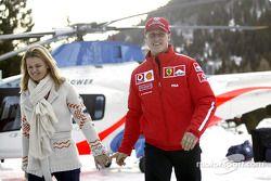 Michael Schumacher y su esposa Corinna