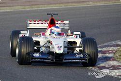Presentación del nuevo BAR Honda 005: Jenson Button