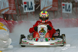 The kart race: Luciano Burti