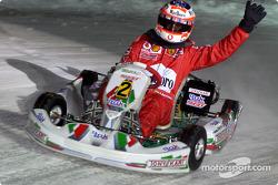 La carrera de karts: Rubens Barrichello