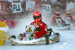 La carrera de karts: Michael Schumacher
