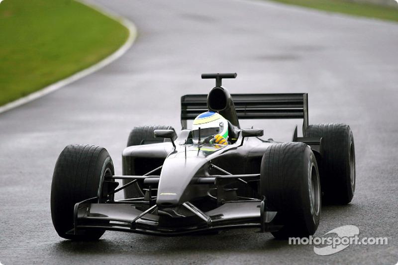 Ppresentación del Jordan-Ford EJ13: Giancarlo Fisichella