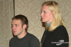 Ed Carpenter and IRL's Beth Agan