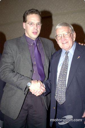Tom Chemris with Junie Donlavey