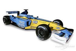 El nuevo Renault F1 R23: estudio fotográfico
