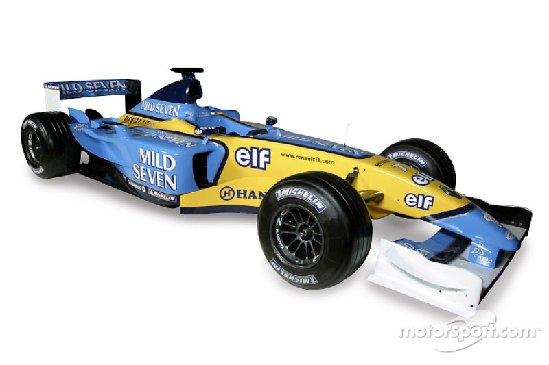 The new Renault F1 R23: studio shoot
