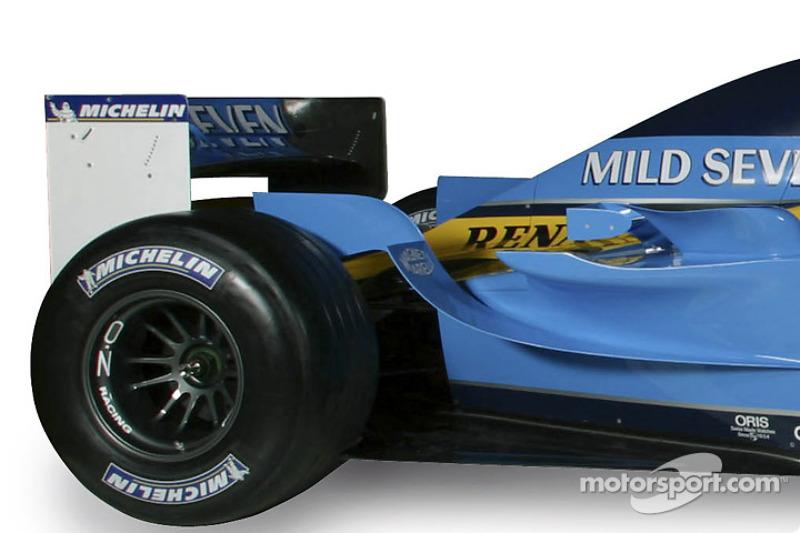 The new Renault F1 R23: studio shoot