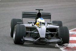 Primera prueba del Jordan-Ford EJ13: Giancarlo Fisichella