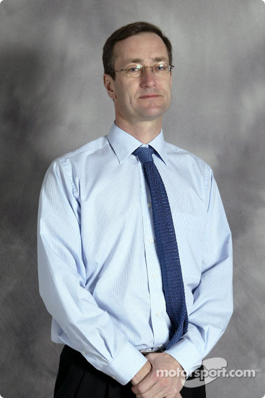 New Head of Jaguar Racings premier performance division Tony Purnell