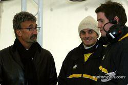 Eddie Jordan ve Giancarlo Fisichella
