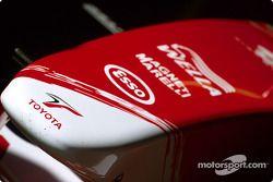 Cono de nariz del Toyota Racing TF103