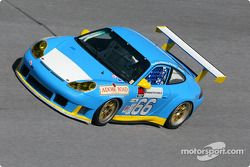 Although the sponsors are not finalized on the car yet, Kevin Buckler's #66 Porsche 911 GT3 RS - a brand new 2003 model - was the fastest GT car on the track during the recent Daytona practice days