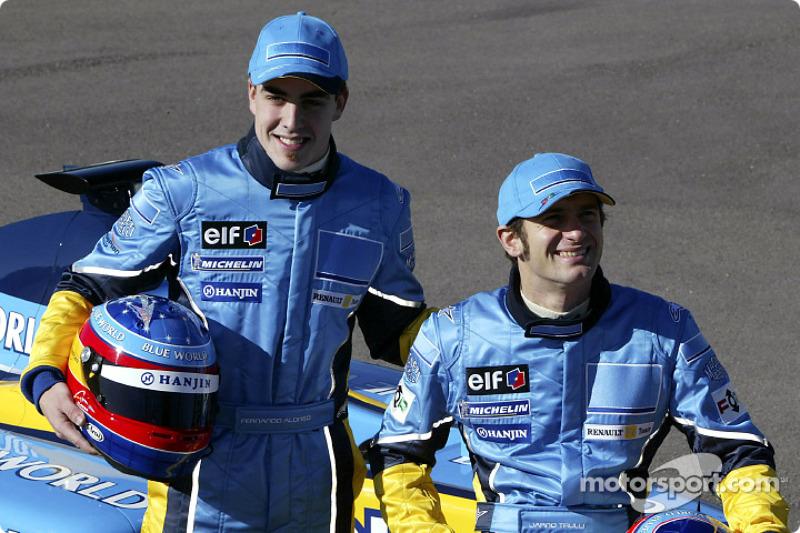 Fernando Alonso ve Jarno Trulli