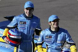 Fernando Alonso und Jarno Trulli