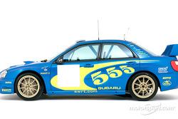 The Subaru Impreza WRC 2003 fue presentado en Monte Carlo