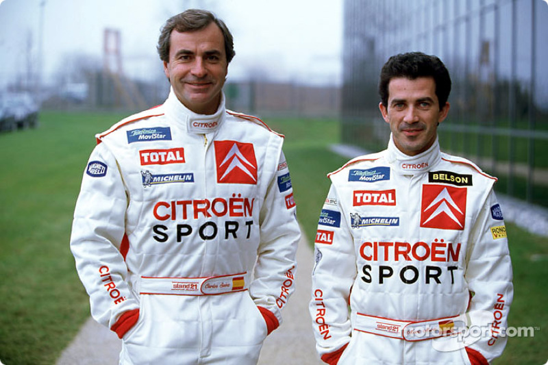Presentación de Citroën Sport: Carlos Sainz y Marc Marti