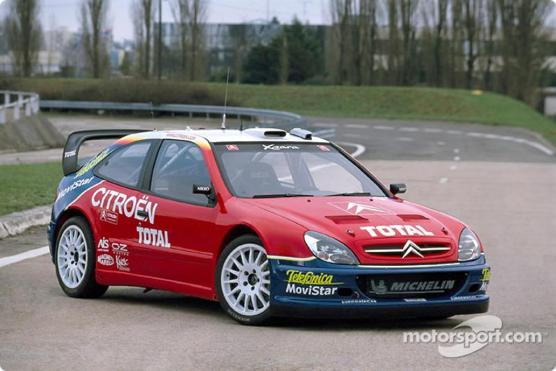Presentación de Citroën Sport: el Citroën Xsara WRC