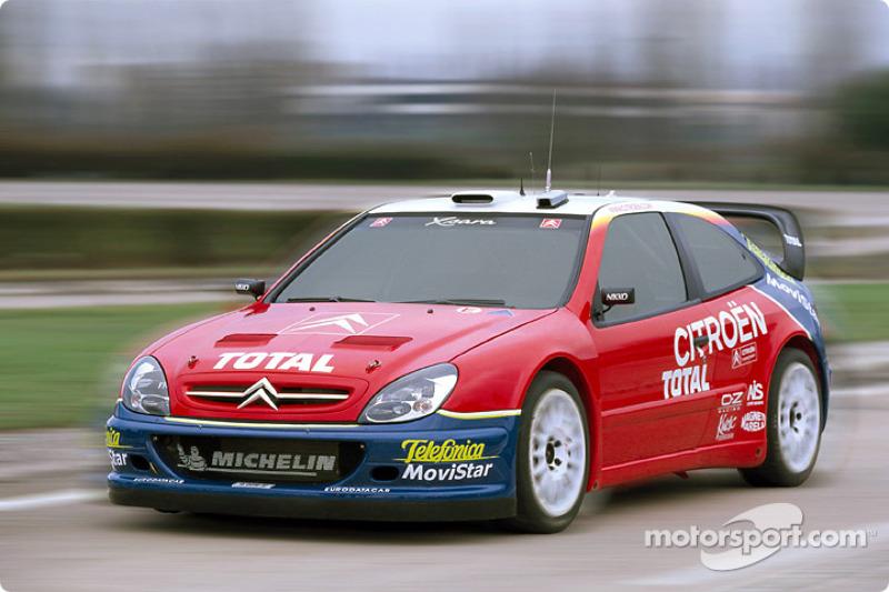 El Citroën Xsara WRC en acción