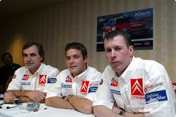 Presentación de Citroën Sport: Carlos Sainz, Sébastien Loeb y Colin McRae