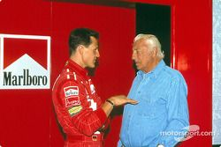 Michael Schumacher y Gianni Agnelli